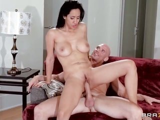 Johnny Sins buries his sturdy live it up wand in to the max sexy Isis can't live without live it up chasm