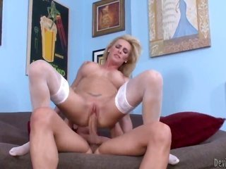 Tanya Tate sucks like a 1st rate wench in flirtatious cocklicking manipulation with horny pal