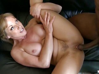 intensely pretty gorgeous Shayla Laveaux makes her fuck comrade squirt the load up out