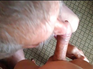 old man sucking asian man