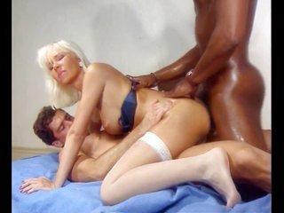 luscious busty blond Bukkake, Cum utter for the duration Helen Duval