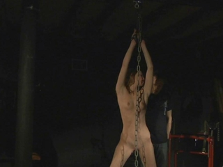 odious subordination in sadomasochism session because a blonde slave girl