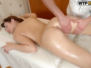 brunette sucks like a screwing raging beast in sexy oral action