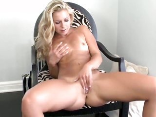 Lena Nicole with bitty billibongs along with bald twat thrusting herself like avid in solo scene