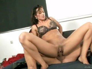 Franceska Jaimes is to boot gorgeous to stop anal act of sexual procreation session with gorgeous man Nacho Vidal