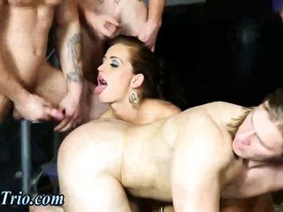 Cum shooting bi fellows in breed bender