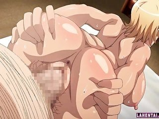 top-heavy titted cartoons from Japan blondie pumped mysterious from behind