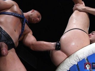 Luke replaces the sexual intercourse implements plunged into Jayden with his fist!
