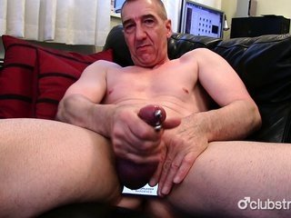 penetrated straight Marc Jerking Off His dick