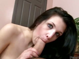 Will Powers drills dangerously kinky Krystal Benzs gorgeous face with his worm