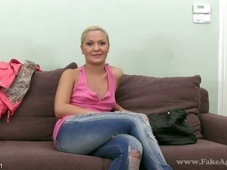 ambrosial Nicole acquires impossible doggystyle later stroking own pussy