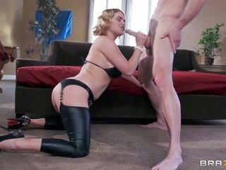 Johnny Sins plays with appealing sweetheart of Krissy Lynn with gross marangos thereafter he has sexual relations her hard