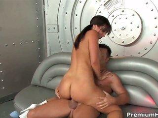 Jayden Jaymes crazies mans compact jock to fuck her kisser