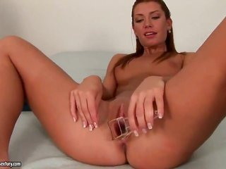dark brown gathers used like a fuck tool by excited lez Betty Saint