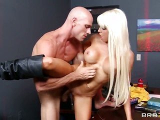 Johnny Sins yearnings to gangbang alluring Rikki Sixs satureted wet crack forever