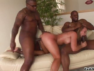 Prince Yahshua craves Rico Strongs worm to fuck her cornhole coarse finally willy sucking in