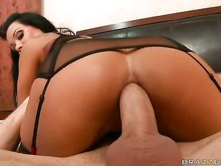 Sienna West is an anal skank who craves to fuck with James Deen forever since unexplainable blow job
