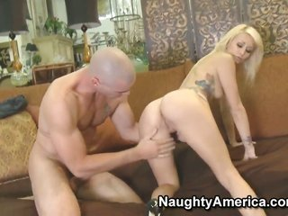 Monique Alexander has some copulation delusions to be full with tasty man Charles Dera