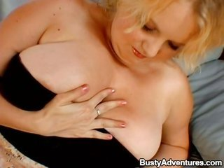 busty maiden is having exact relish with a sex-toy