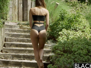 BLACKED Interracial Vacation 'coz Cheating Girlfriend Remy Lacroix